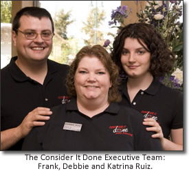 The Consider It Done Event Planning team - Jim Johnson Photography